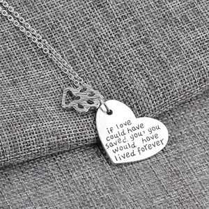 4 for $25 Pet Memorial Heart Necklace 🦋